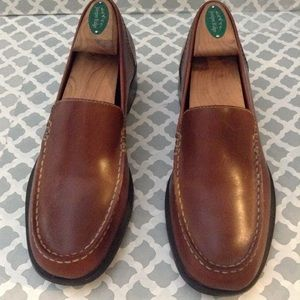 TIMBERLAND BROWN GENUINE LEATHER LOAFERS